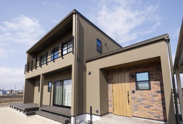 外観、片流れ屋根、カッコいい家