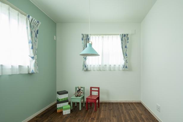 爽やかなブルーのお部屋