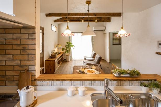 キッチンからの風景