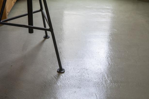 趣味室の床材はMPC