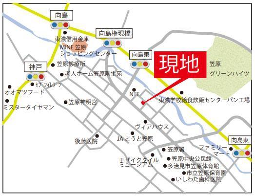 MAP(多治見市笠原町)