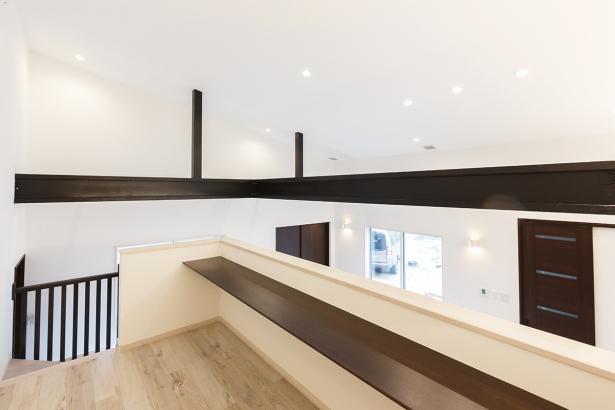 1.5階のロフト