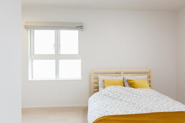 可愛らしい主寝室